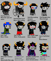 Homestuck According To My Parents by LostPlanetVoltia