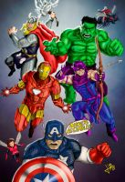 Avengers Assemble!! by blackbicho