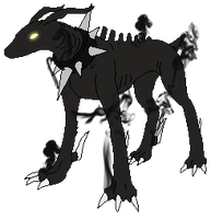 .:Hellhounds -- Uncommon Form:. by HomestuckObsessed