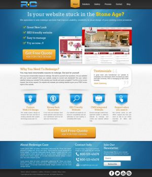 Landing page by amitrai10