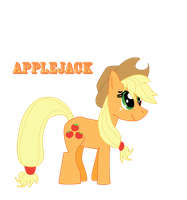 MLP FiM AppleJack 4-14-12 by JamesCranmer