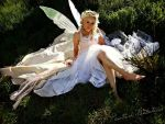 Modeling My Fairy Wings And Dress I Made by nikkilipstick