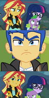 that's right, a talking dog stole BOTH your waifus by titanium-pony
