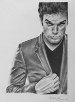 Michael C. Hall as Dexter by rachbeth