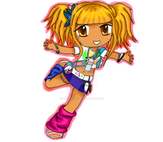 Second life chibi by twigglesbear