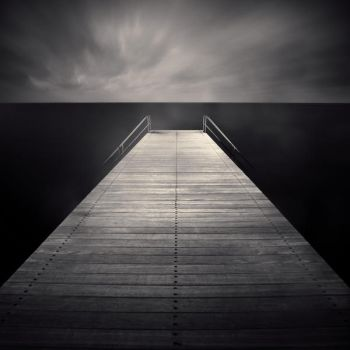 Two Ladders And A Pier by DenisOlivier