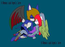 Love Of An Angel And Devil by ayanna-vvision