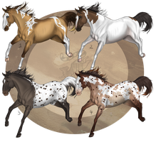 Residual Horses Batch 2 [CLOSED] by ResidualAdopts