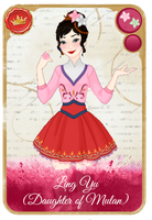 Ling Yu (Daughter of Mulan) by KariaHearts56789