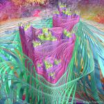 Flowing Castles by Fractal-Kiss