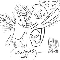 When Zip Gets Angry Enough... by KasumiAlche