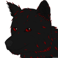 Commission - Wolf Headshot for Raylorn by AJBurnsArt