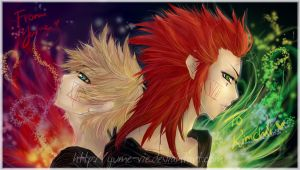 Gift - Akuroku+Burning Desire+ by Yume-Rie