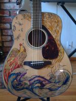 Four Elements Guitar by dragonlover-samantha