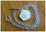 Vanilla Rose Necklace by ScrumptiousDoodle