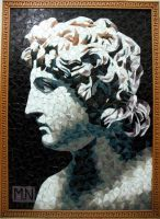 mosaic-Alexander the great by MinaNashed