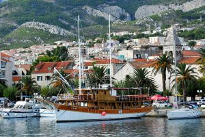 Makarska waterfront 1 by wildplaces