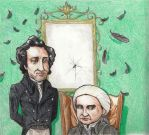 Jonathan Strange and Mr Norell by TEH-beXki