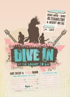 """""""Dive In"""" Indie Flyer by blueplasticbag"""