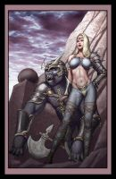 Arill and Iergoth by iergoth