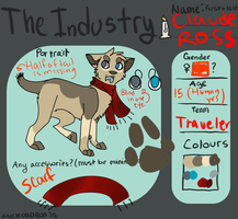 The Industry app filled by iluvwolfies