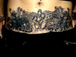 Avenged Tattoo by Selenia-Dark-Angel