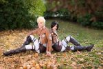 Shingeki No Kyojin ~ Thomas and Mina I by YamatoTaichou