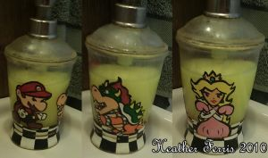 Super Mario Brothers Soap Dispenser by Heather-Ferris