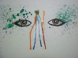Abstract Eyes by wc4r