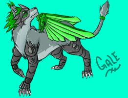 Gale for Tophfaith by Leopard-Gryphon