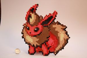 Pokemon Red by KokanutPerlers
