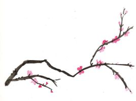 Cherry branch by lmmi