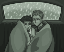 Cold Night in the Impala by xxx-TeddyBear-xxx