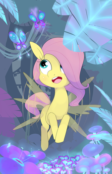 Deep in the Everfree by Kryptchild