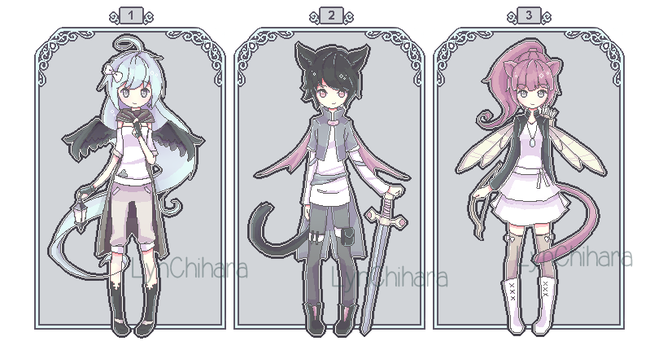 [CLOSED] Magical Card Adoptable by LynChihara