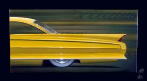 Custom 62 Cadillac painting by PinstripeChris