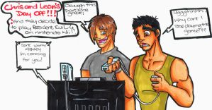Chris and Leons Day Off by Hades-O-Bannon