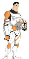 Commander Cody by larsloenstrup