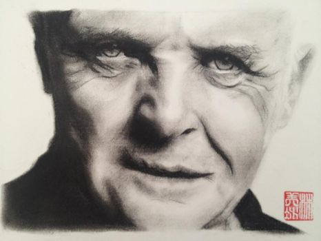 Sir Anthony Hopkins by 4mLs