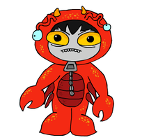 Karkat in a Crab Onesie by karkatkrab