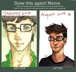 Meme before and after! by Inain1