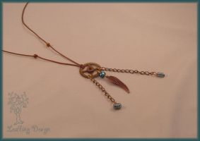 Steampirate necklace by Marjolijn-Ashara