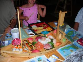 sushi boat by 4EverUnknown