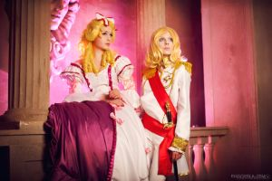 The Rose of Versailles by Annie-Forsait