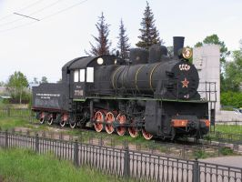 steam locomotive by lSiaNl