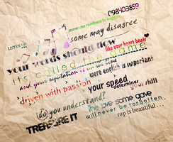 Rap Is Beautiful - Typography by SadiqAhmed123