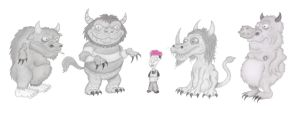 Erin Meets the Wild Things by BigBitey