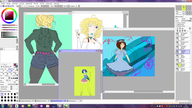 Wip just some things I am working on by Tonxbunny94