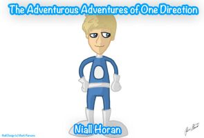 Niall Horan - One Direction - Cartoon by BananaOwlArtist