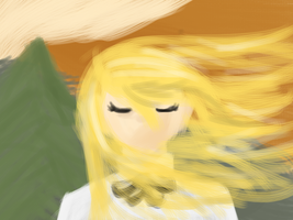 Lilly Satou quick paint by gggfrt